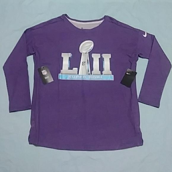 977aeab1 Nike Tops | Nfl Super Bowl Lii Shirt | Poshmark